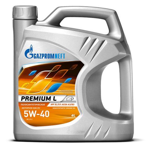 Gazpromneft Premium L 5W-30, 5W-40, 10W-40, ...